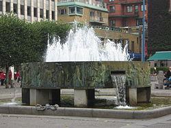 Karta Skulpturer Boras.Skulpturerna Boras E033